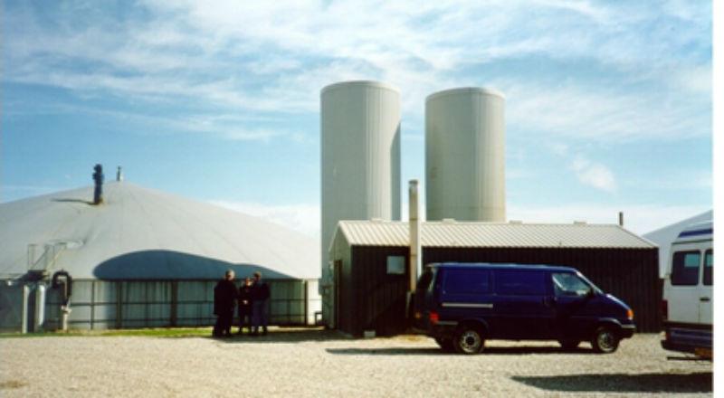 Biogazownia rolnicza w Danii