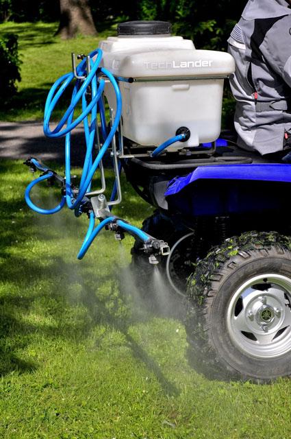 Opryskiwacz Techlander do zastosowań z pojazdami ATV